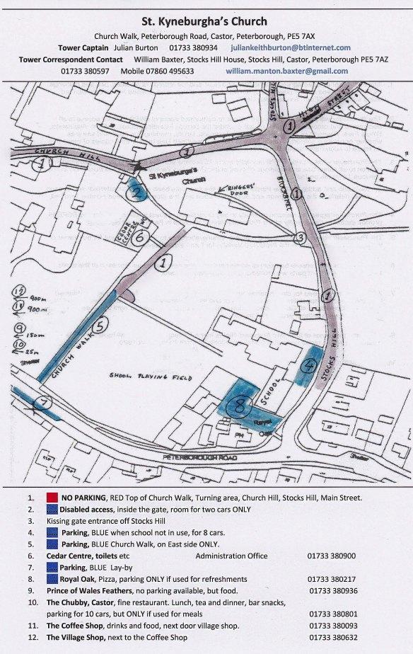Castor Parking Plan David